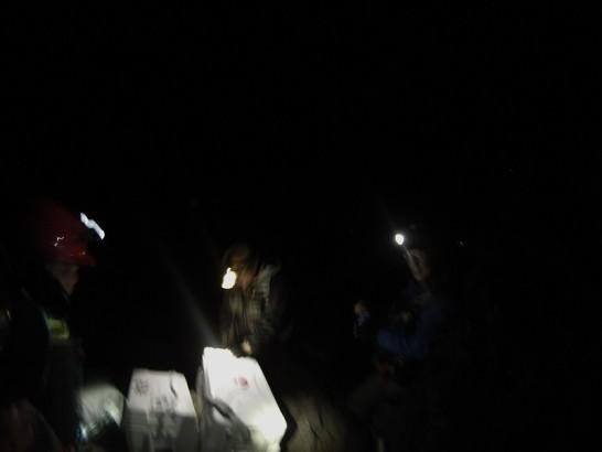 今回の夜釣りは不発